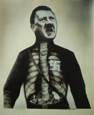 An example of John Heartfield's work.